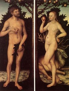 Lucas Cranach The Elder - Adán y Eva 8