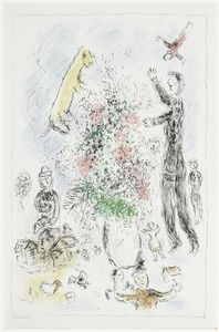 Marc Chagall - Lilas