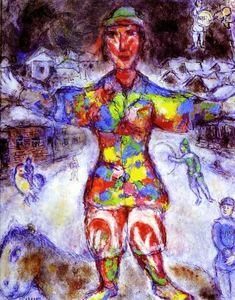 Marc Chagall - Multicolor payaso