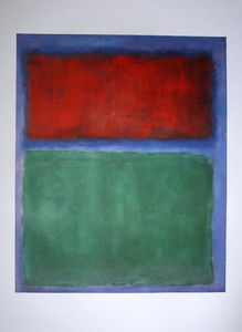 Mark Rothko (Marcus Rothkowitz) - Terret green color
