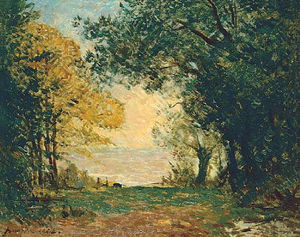 Maxime Emile Louis Maufra - Beg-Meil al atardecer