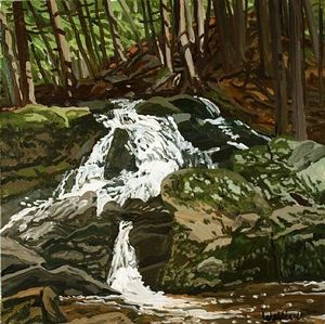 Neil Gavin Welliver - Estudio para Falls - Jam Brook