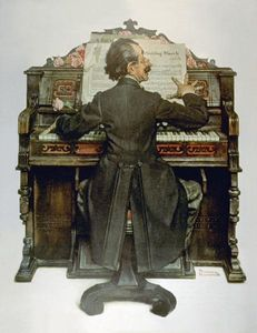 Norman Rockwell - Piano