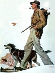 Norman Rockwell - Pipa
