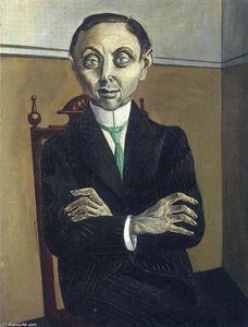 Otto Dix - Botas retrato of Paul null . Schmidt