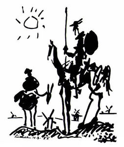 Pablo Picasso - Don Quijote