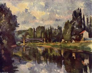 Paul Cezanne - Puente over marne