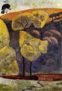 Paul Serusier - el azul valle