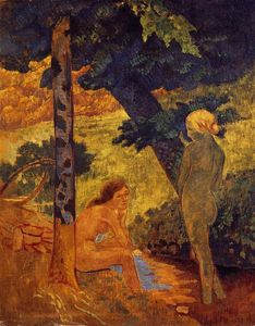 Paul Serusier - bañistas