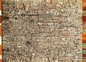 Pavel Filonov - Untitled (Composición para no objetivo)