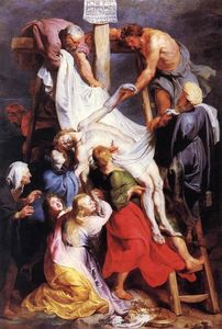 Peter Paul Rubens - `descent` desde el cruz