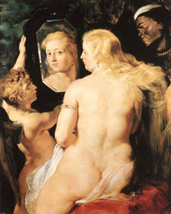 Peter Paul Rubens - retrete de la mañana of Venus