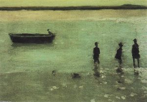 Philip Wilson Steer - Playa en Etaples