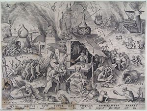 Pieter Bruegel The Elder - Codicia
