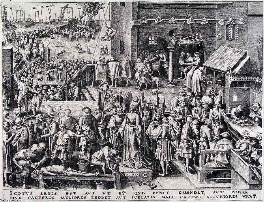 Image result for Bruegel's 'Justicia'
