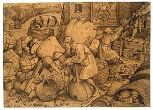 Pieter Bruegel The Elder - Filisteo