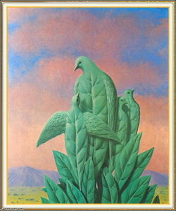 Rene Magritte - lo natural gracias