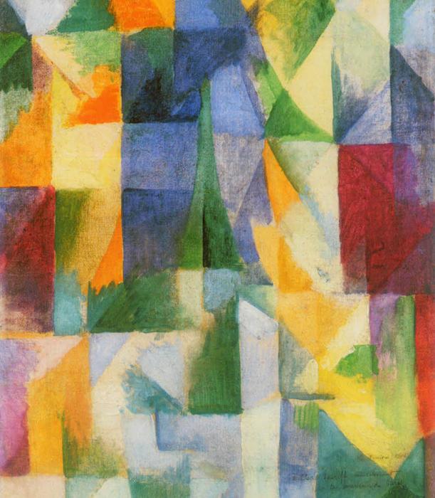 Delaunay simultaneous windows - Yo Qu 233 Seeee 233 De Lo Figurativo A Lo Abstracto I