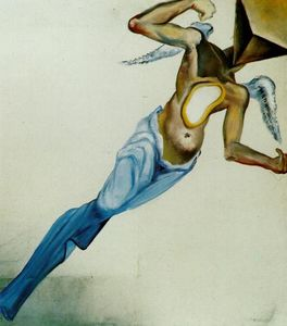Salvador Dali - surrealista ángel