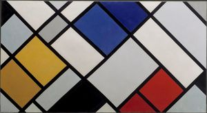 Theo Van Doesburg - Contra-Composición de Disonancias, XVI