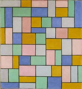 Theo Van Doesburg - Composición en disonancias
