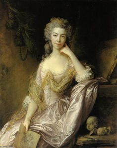 Thomas Gainsborough - Retrato de la señora Drummond