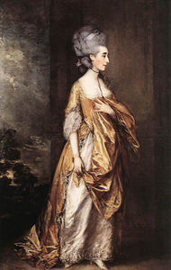 Thomas Gainsborough - La señora Gracia D. Elliott