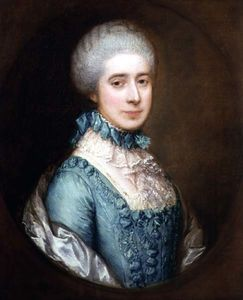 Thomas Gainsborough - Retrato de la señora Awse