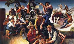 Thomas Hart Benton - Artes de Occidente