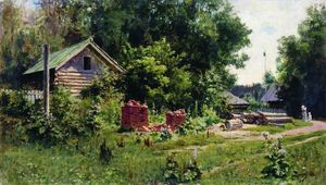 Vasily Dmitrievich Polenov - a patio