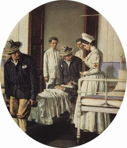 Vasily Vasilevich Vereshchagin - En el hospital