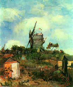 Vincent Van Gogh - Le Moulin de la Gallette 3