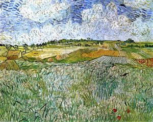 Vincent Van Gogh - el avion en auvers