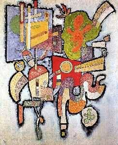 Wassily Kandinsky - Simple Complejo