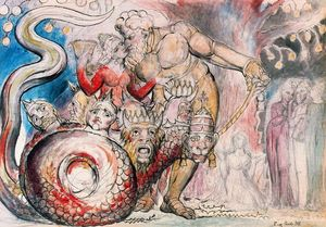William Blake - La Ramera y el Gigante