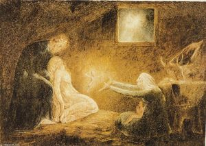 William Blake - La Natividad