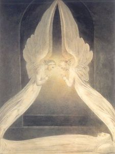 William Blake - Cristo en el Sepulcro