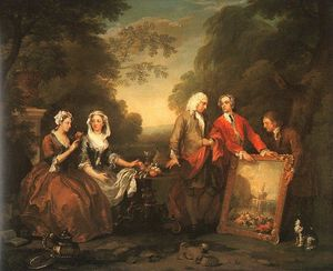 William Hogarth - La Familia Fountaine