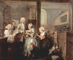 William Hogarth - matrimonio
