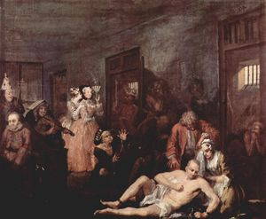 William Hogarth - El Madhouse