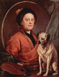 William Hogarth - autorretrato
