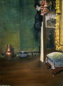 William Merritt Chase - puede i descender precipitadamente