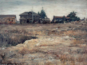 William Merritt Chase - Monterey, California