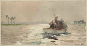Winslow Homer - Bass Fishing, Florida