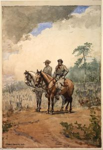 Winslow Homer - Dos Scouts