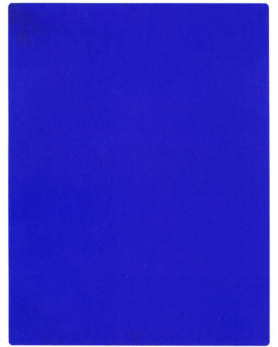 International Klein Blue de Yves Klein (1928-1962, France) |  | WahooArt.com