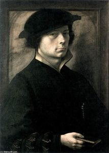 Master Of The Lille Adoration - retrato de un hombre