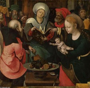 Master Of The Lille Adoration - El parentesco santo