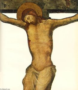 Lorenzo Monaco - Cut-out Crucifijo (detalle)