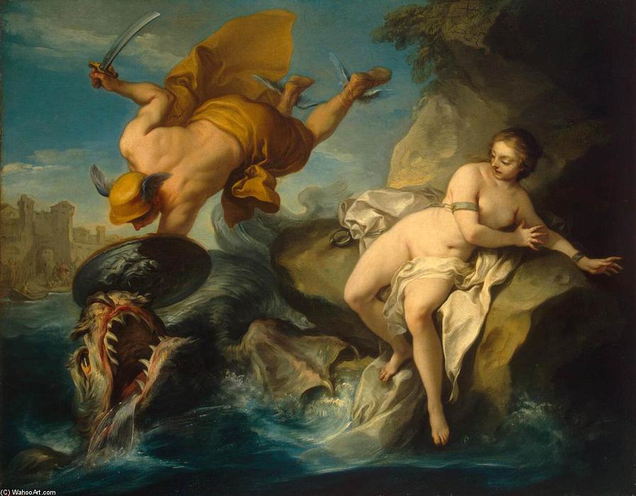 Perseo y Andrómeda Charles-Andre-Van-Loo-Perseus-and-Andromeda-2-